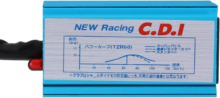 Bobina de encendido de 5 pines Racing CDI Box para motocicleta 50cc 70cc 90cc 110cc