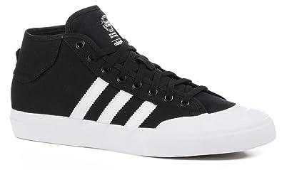 new arrival 3384f 414c9 adidas Skateboarding Matchcourt Mid ADV Core Noir Massif Skate Chaussures  Blanc Gris - - Black Grey