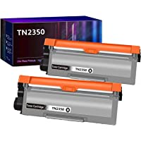 2 Pack Compatible TN2350 Toner Cartridge TN-2350 for Brother HLL2300D HLL2340DW HLL2365DW MFC-L2700DW MFCL2700DW MFC…
