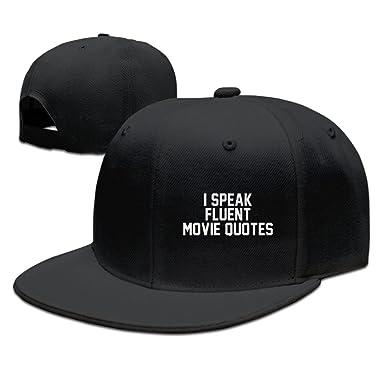 8b03176771b I Speak Fluent Movie Quotes Film Cinephile Trucker Hats Snapbacks Match Cap