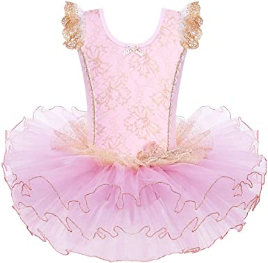 Girls Breathtaking Ballet Tutu Princess Dress Up Dance Wear Costume Party