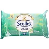 Scottex Hig.Humedo Aloe toalettpapper, vått, flerfärgad, 44 st.