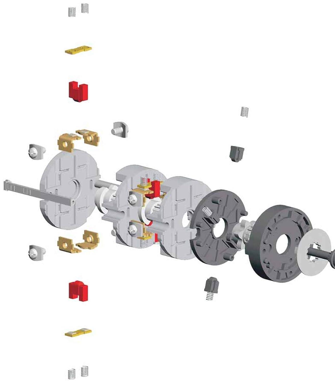 Hauptschalter 12A 3polig gekapselt f/ür Fronteinbau Lasttrennschalter Industrie