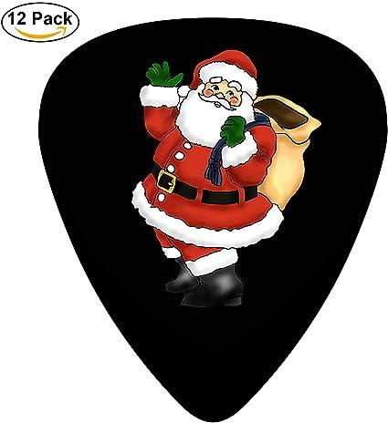 Púas de celuloide para guitarra eléctrica de Papá Noel, regalo de ...