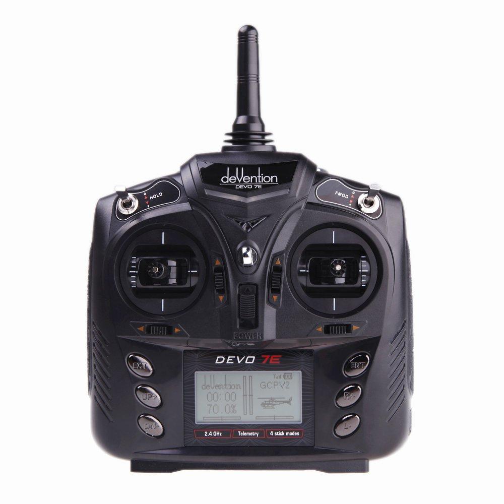 Walkera 7CH 2.4G B00B3OCRTY DEVO-7E DSSS Radio Control Transmitter 7 DEVO-7E Radio Channel W/o Rx by Walkera [並行輸入品] B00B3OCRTY, Better-goods co:490b61bc --- itxassou.fr