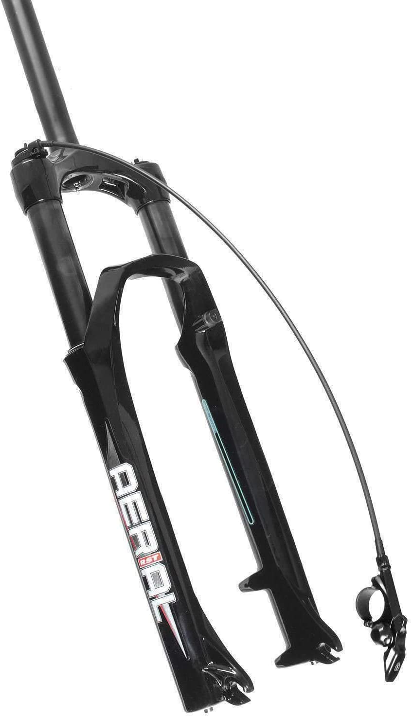 "RST First Mountain Bike Bicycle 26/"" x 100mm Remote Disc Brake Fork White"