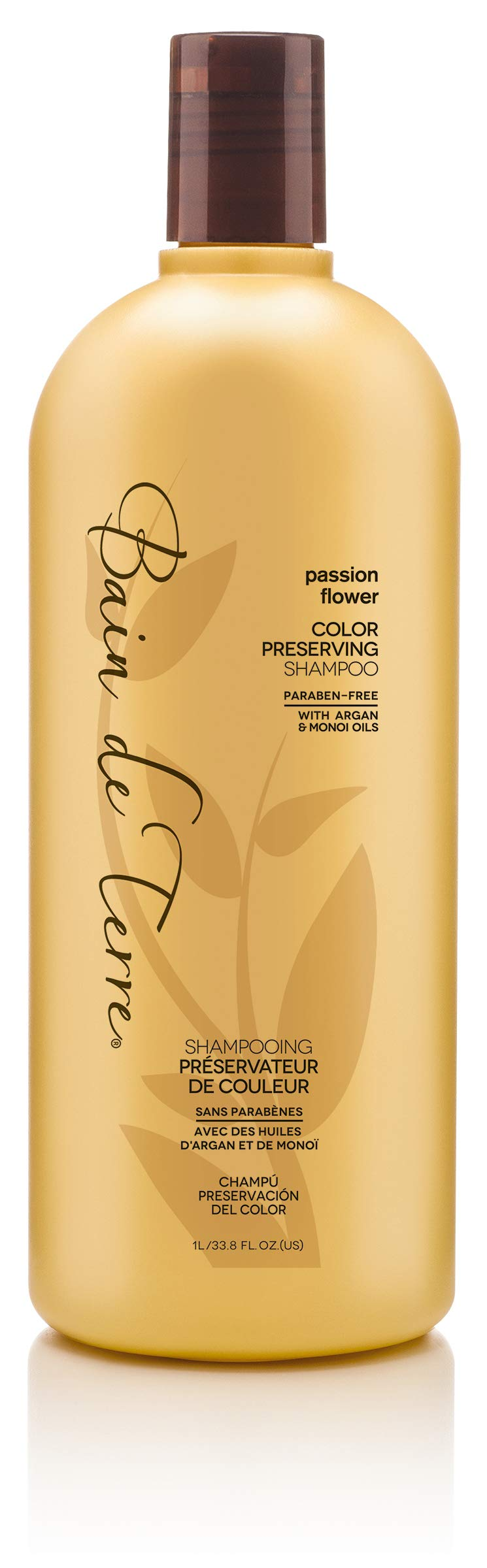 Bain de Terre Color Preserving Shampoo, Passion Flower, 33.8 Ounce