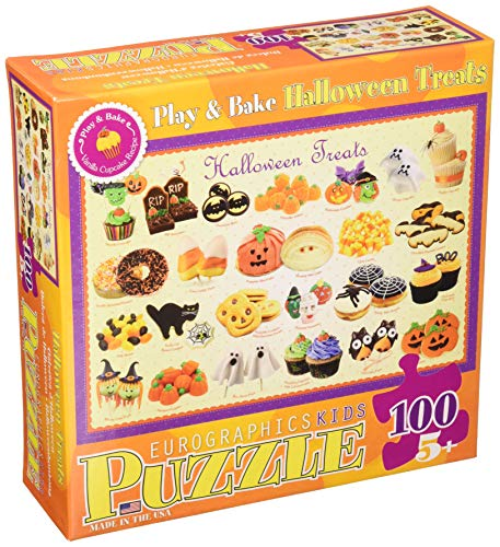 Halloween Treats Puzzle, 100-Piece -