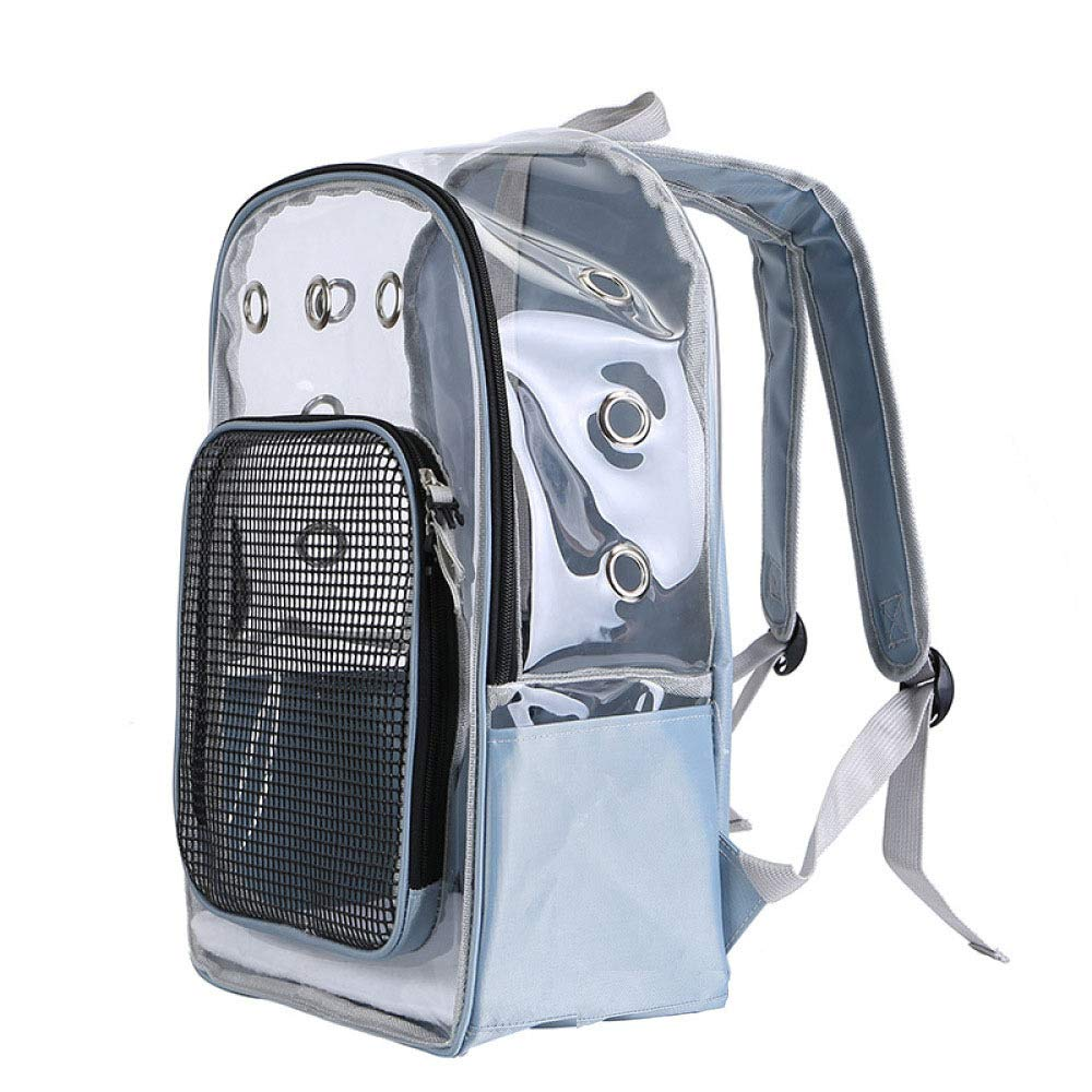 Grey One Size Grey One Size Transparent Pet Bag Cat Bag Out Portable Backpack Travel Bag Space Capsule Backpack Breathable Outdoor Waterproof Senior Handbag