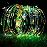 Glisteny Fairy Lights, Solar String Light 15M 150LED 8Mode Starry Strip Lights Copper Wire Lamp Waterproof IP65 Garden Outdoor For Home Bedroom Holiday Wedding Party Colorful light