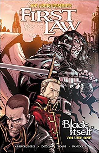 the first law the blade itself graphic novel 1 amazon co uk