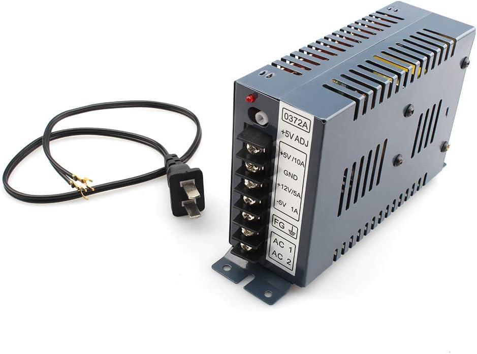 Hanbaili Ausgang 5V 12V 24V Schaltnetzteil Box Adapter F/ür Jamma Arcade Machine