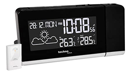Technoline WT 539 Reloj de repisa o sobre Mesa Digital Table Clock ...