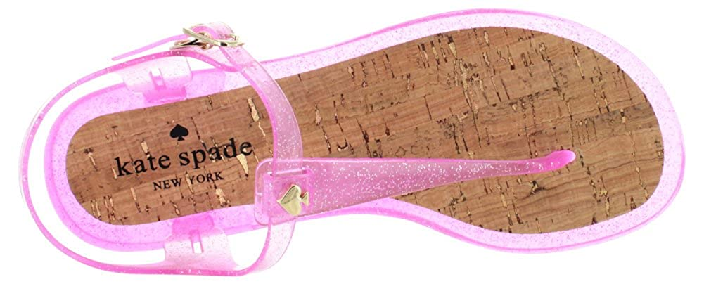 54e48ea32d84 Kate Spade Yari Women s T-Strap Thong Jelly Sandals Pink Size 7  Buy Online  at Low Prices in India - Amazon.in