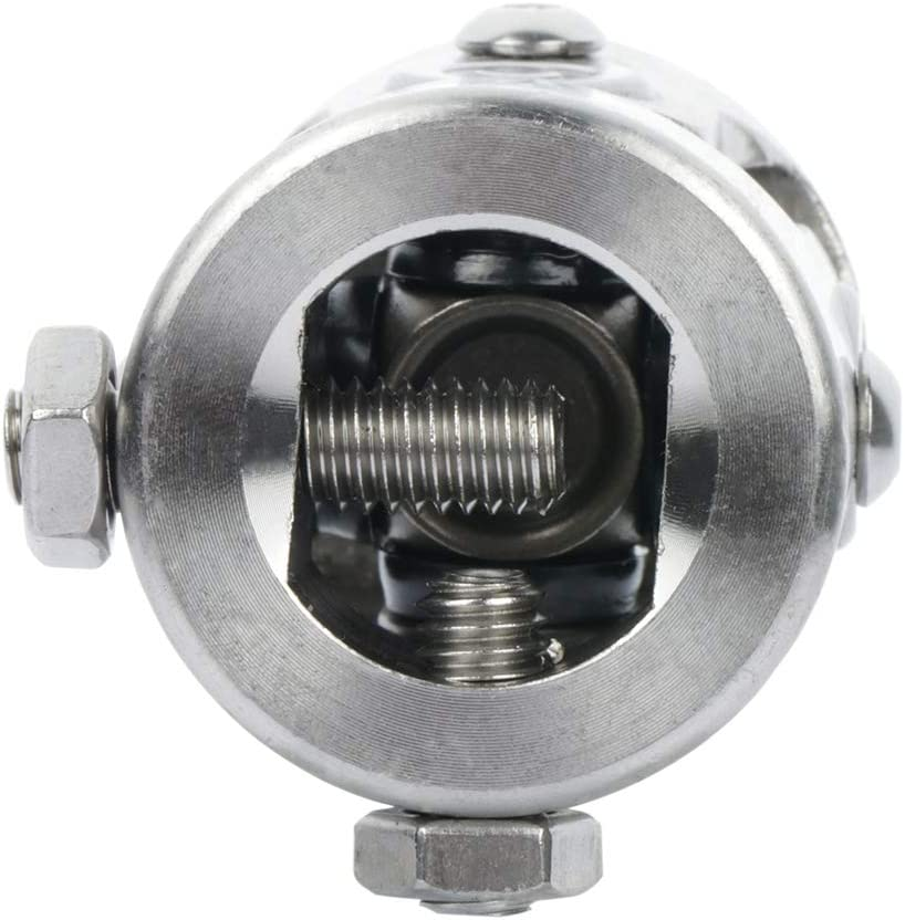 INEEDUP Black 1 DD to 3//4 DD Steering Shaft U Joint Street Rod Universal Coupler Universal single Jonints