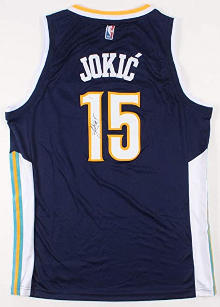 new styles 09c15 73001 Nikola Jokic Autographed Signed Denver Nuggets Jersey - JSA ...