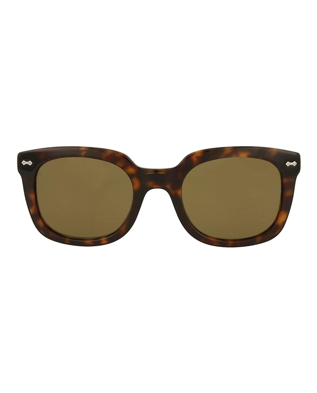 1a4daee28dd Amazon.com  Gucci sunglasses (GG-0181-S 002) Dark Havana - Grey green  lenses  Clothing