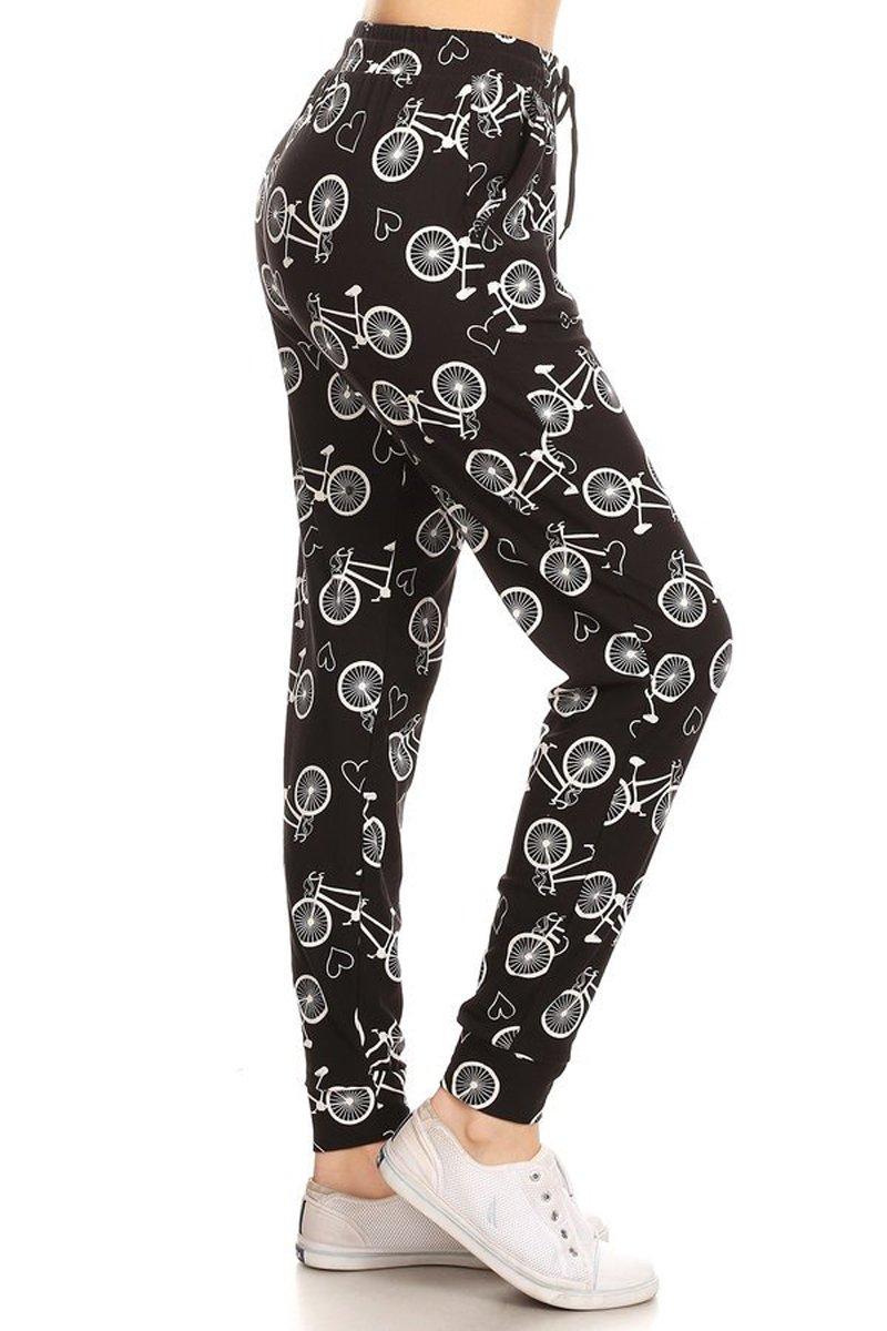Leggings Depot Premium Jogger Women's Popular Print High Waist Track Pants(S-XL) 61wo39xghyL
