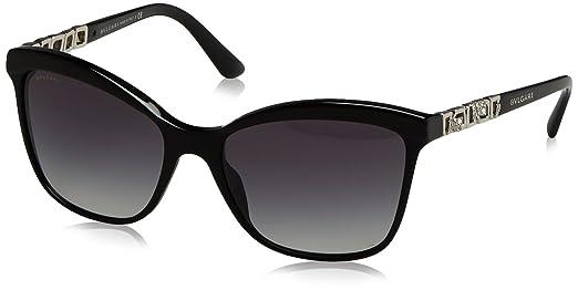 Bvlgari 8163, Gafas de Sol Unisex, Sand Black/Black, 56 ...