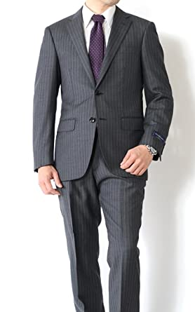 A体 2パンツスーツ BB体 ビジネススーツ 春夏メンズスーツ AB体 2ツボタンスーツ ベーシックモデルスーツ スーツ ネイビー