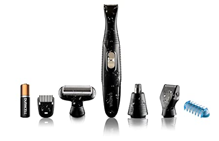 Nova NG910 Portable Battery Operated Precision Trimmer  Black  Men's Grooming Sets   Kits