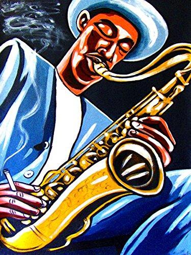 DEXTER GORDON PRINT POSTER cd lp record album vinyl Sax saxophone go round midnight ballads
