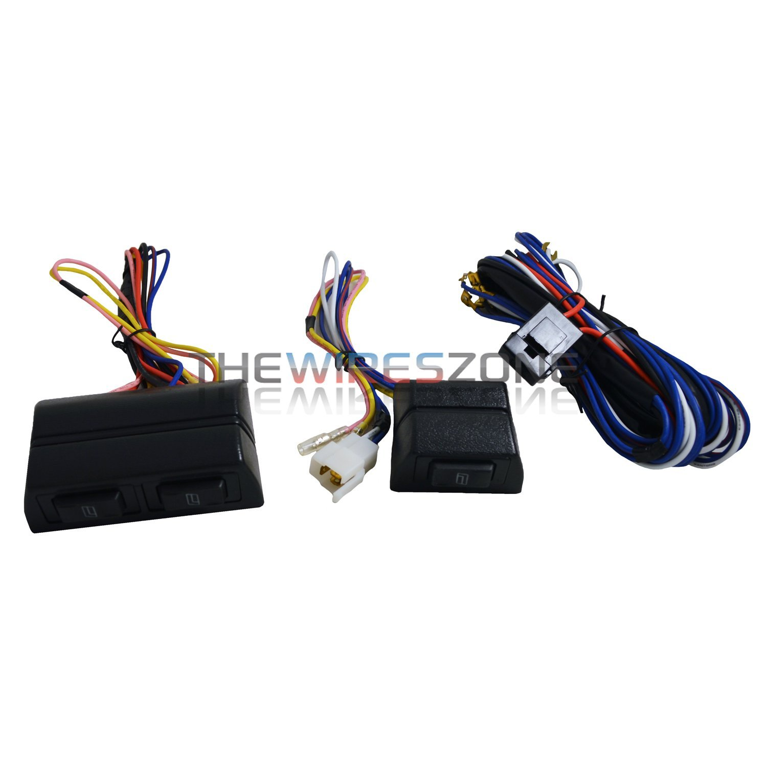 New Universal 12 Volts Power Window Switch Kit W Wire 1996 Ford Ranger Electric Wiring Harness 12v Automotive