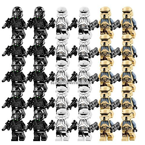 30 New Storm Trooper Rogue One MINIFIGURE Building Block Toy Kids Gift