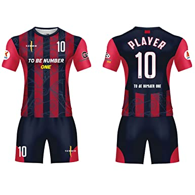 95e9372ae8e Custom Sportwear Team Soccer Jerseys 2019 Design red/Black Sport Uniform  with Name and Number