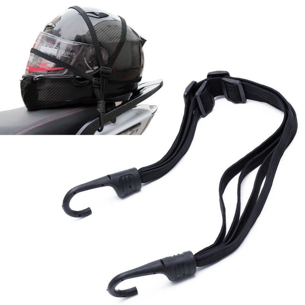 Cuerda elá stica multiusos universal para motos bicicletas Scooter portaequipajes casco carga equipaje ajustable con ganchos yinshuang zhou