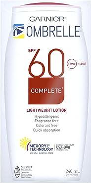 Garnier Sunscreen Ombrelle Complete Body  Lotion, Lightweight Spf 60, 240 mL