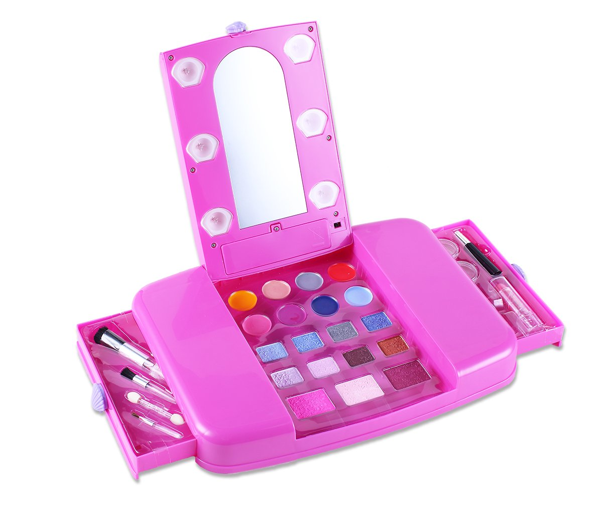 makeup kits for little girls. amazon.com: tokia kids makeup set, play sets for little girls: toys \u0026 games kits girls