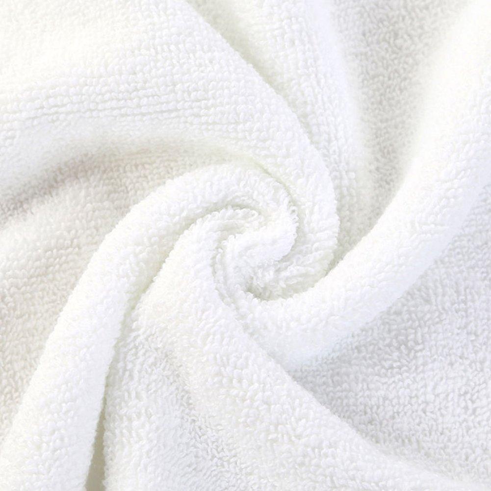 Danigrefinb 1 PC bianco casa hotel asciugamano asciugamano da viaggio morbido asciugamano 30 x 70 cm asciugamani da bagno