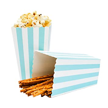 Cegar Streifen Popcorn Cup Set Of 12 Geburtstag Party Dekoration