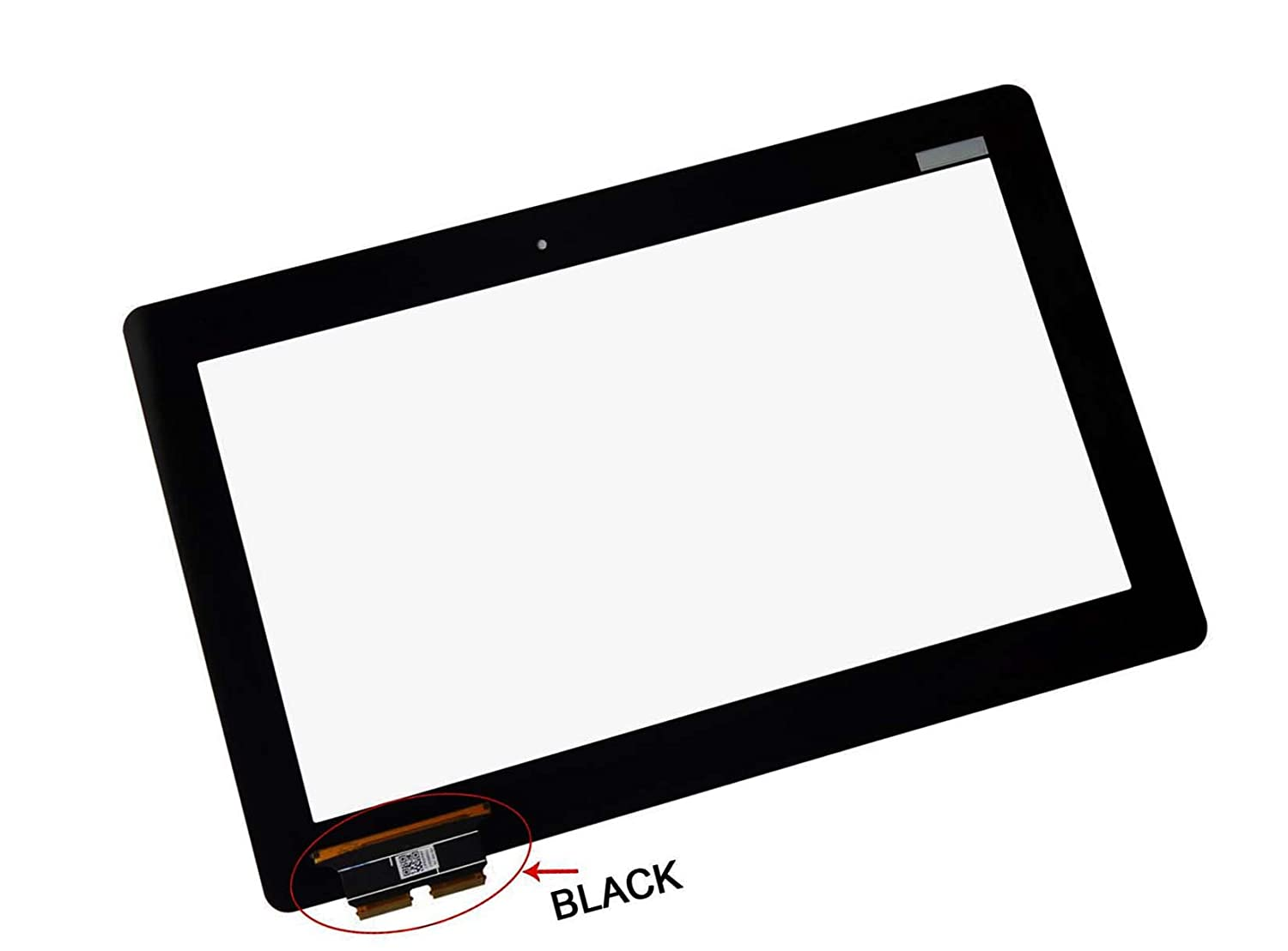 BLACK FPC InOneWorld/® Laptop Touch Screen Replacement Front Glass Digitizer for Asus Transformer Book T100 T100TA NO LCD, NO BEZEL
