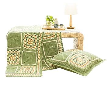 Decke Baumwolle Diy Handgemachte Häkelarbeit Woven Material Decke