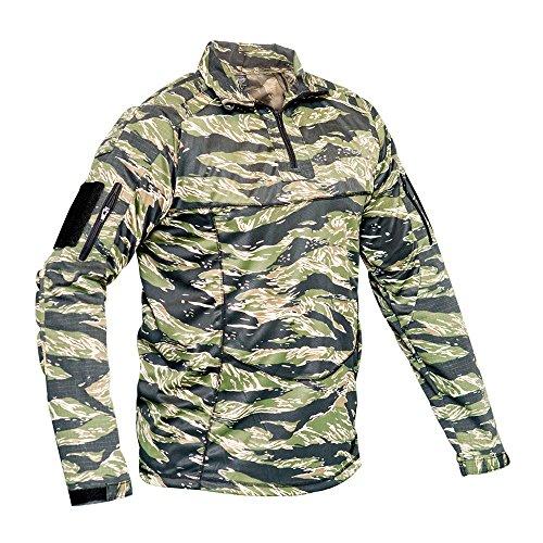 Valken Tactical Tango Combat Shirt, Tiger Stripe, - Tiger Bdu Shirt Stripe