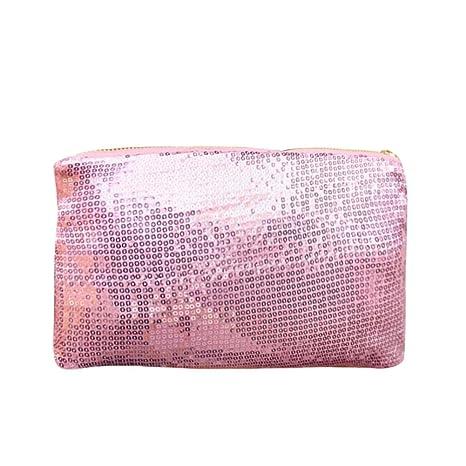 BESTVECH Fashion Women Clutch Dazzling Sequins Glitter Sparkling Handbag  Evening Bag Pink  Amazon.in  Shoes   Handbags 990682fb4097