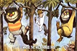 Where The Wild Things Are - Hanging From Trees Poster by Maurice Sendak 36 x 24in