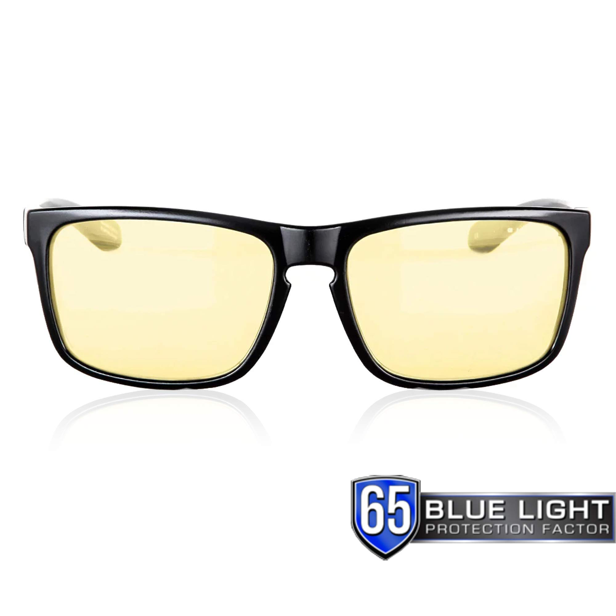 GUNNAR Gaming and Computer Eyewear /Intercept, Amber Tint - Patented Lens, Reduce Digital Eye Strain, Block 65% of Harmful Blue Light by Gunnar Optiks (Image #9)