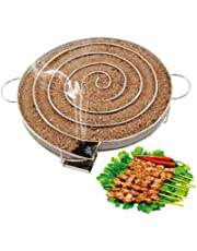 Cold Smoke Generator, Pellet Smoker Box Stainless Steel Grill Smoker Box, Sawdust Smoker Hot and Cold Smoking, for BBQ Wood Chips Charcoal Gas Grills