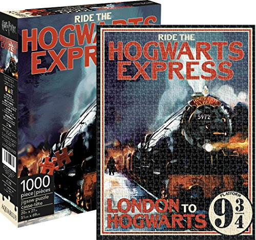 Aquarius Harry Potter Hogwarts Express 1000 Piece Jigsaw Puzzle