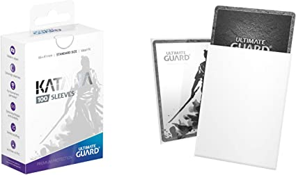 Ultimate Guard Standard Clear Precise Fit Sleeves 64x89mm Fits In Sleeves 100