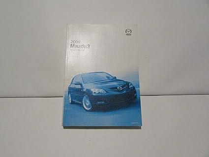 amazon com mazda 09 2009 3 owners manual book guide 7367 automotive rh amazon com 2009 Madaza 3 2009 Mazda Mazda 6