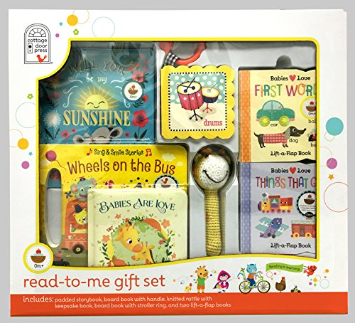 Read-to-Me Gift Set - Daytime Board Book Collection (The Cottage Collection)
