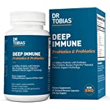 Dr. Tobias Deep Immune Probiotics & Prebiotics, 4.4 Billion CFU, Supports Healthy Gut, 60 Capsules, (2 Daily)