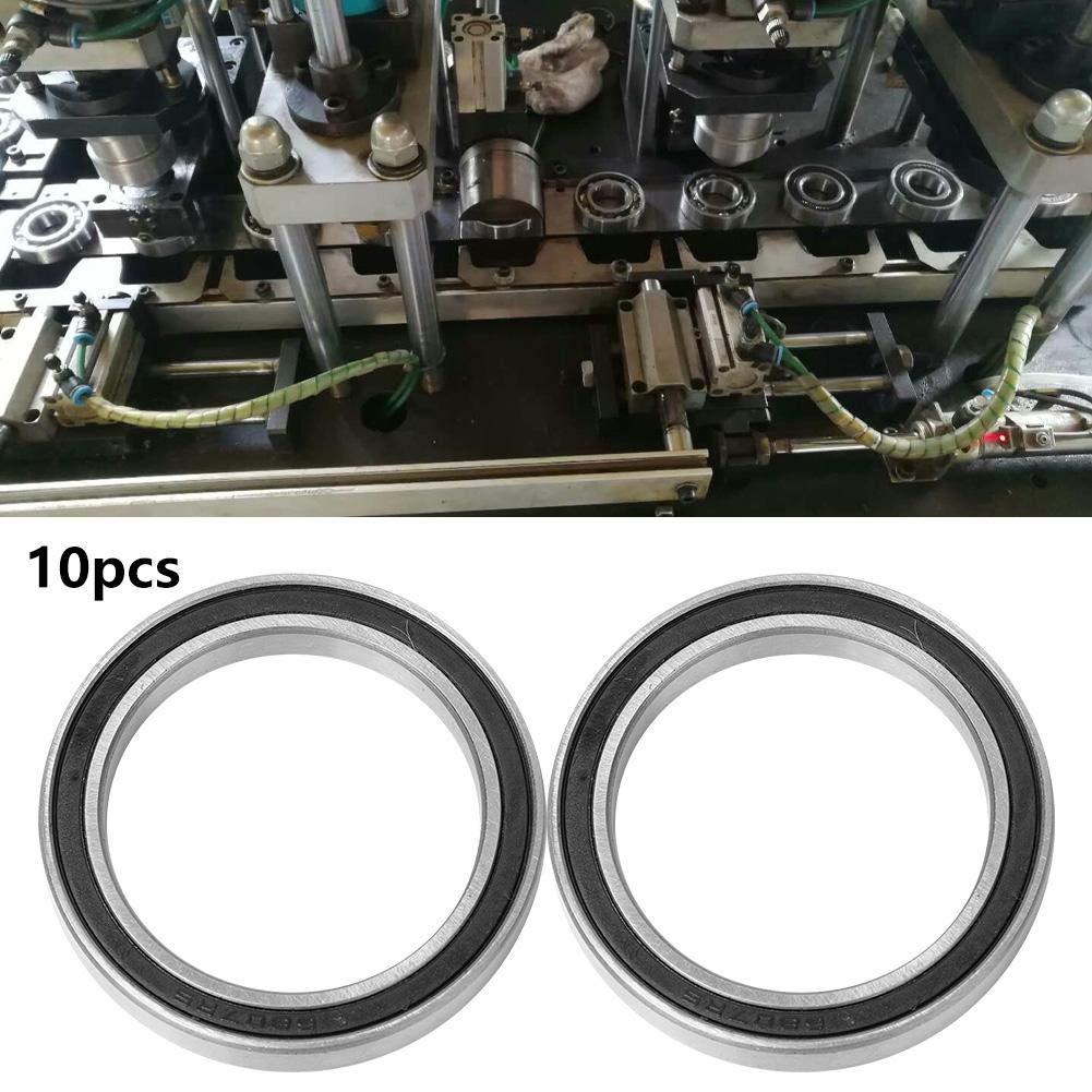 35 * 47 * 7mm idalinya 10 pezzi cuscinetti radiali a sfere ad alta velocit/à a una corona di sfere in acciaio doppio cuscinetto