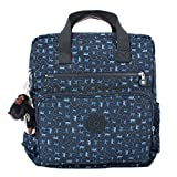 KIPLING Audrie Diaper Bag Backpack with Changing Pad - Monkey Mania Blue