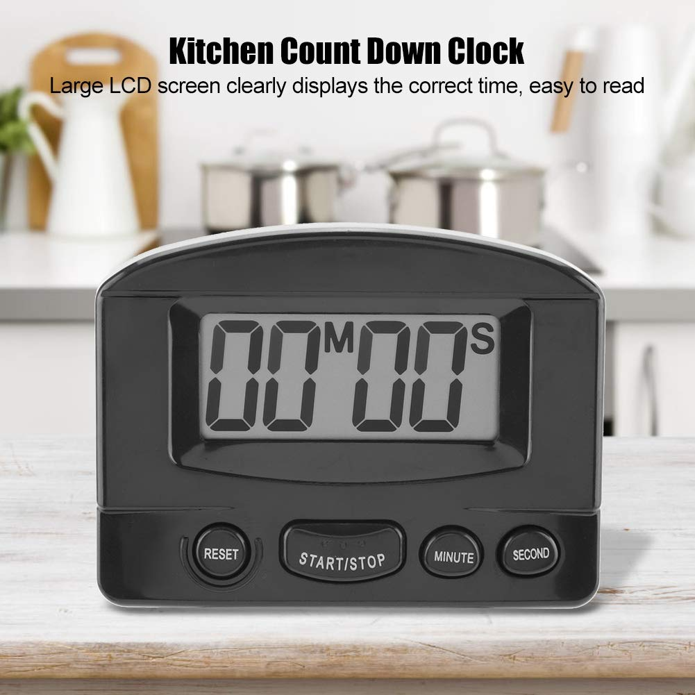 Pasamer Digital LCD Kitchen Timer Cooking Tool Tempo di Cottura Elettronico Count Down Clock Alarm # 1