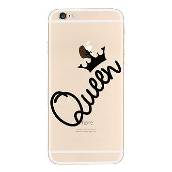 coque iphone 6 queen transparente